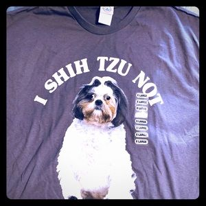 NWT I Shih TzuNot unisex T shirt